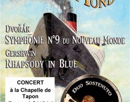 Symphonie du Nouveau Monde avec le Duo Sostenuto