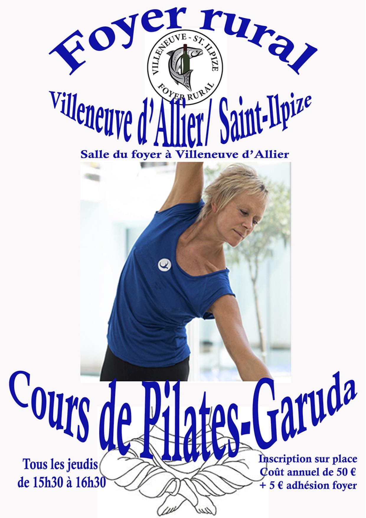 Reprise des cours de Pilates Garuda