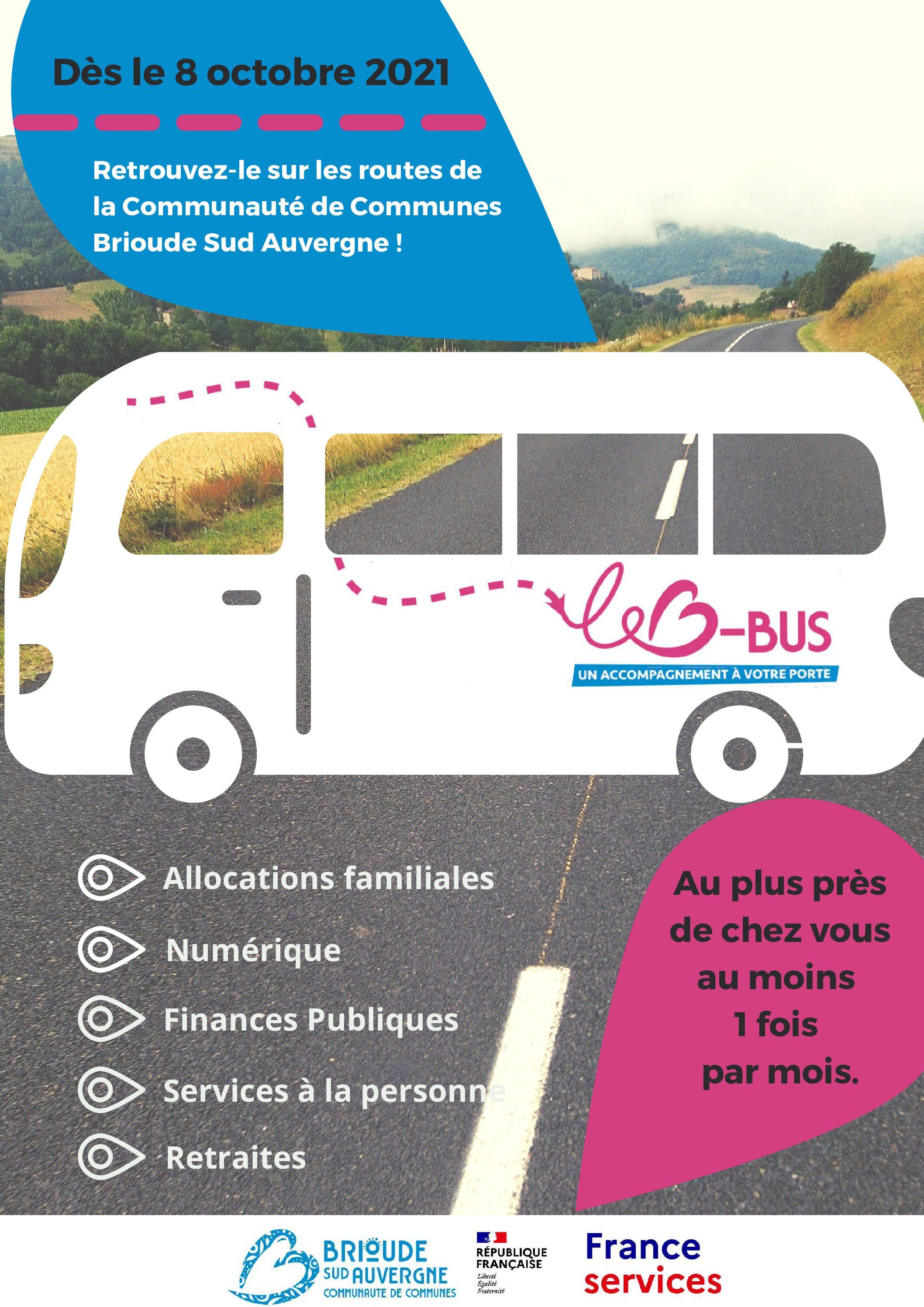 Dates de passage du Bus-Services
